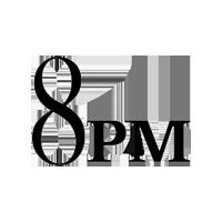 8PM logo