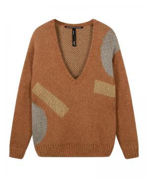 Sweater V-neck Big ten logo