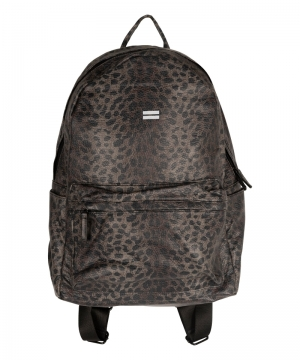Backpack Leopard Camo logo