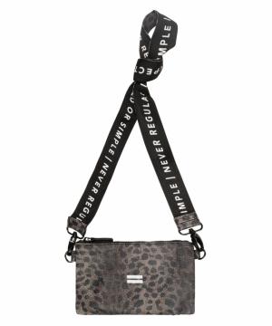 Mini pouch leopard Camo logo