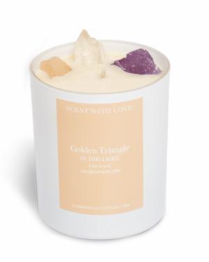 Pastel - Golden Triangle - Pea logo