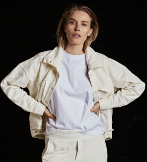 Short Jacket Fleece logo
