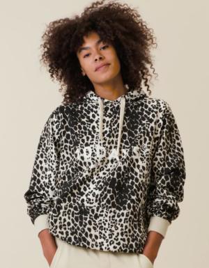 Hoodie Leopard logo
