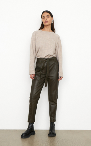 Indie Leather New Trousers logo