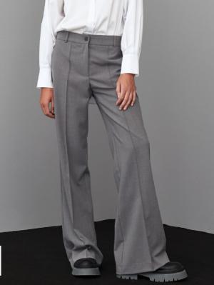 Pants grey logo